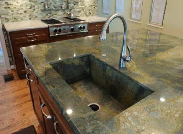 Beautiful Cabinet Tops - Granite, Marble, Your Choice - Make a Beautiful Kitchen